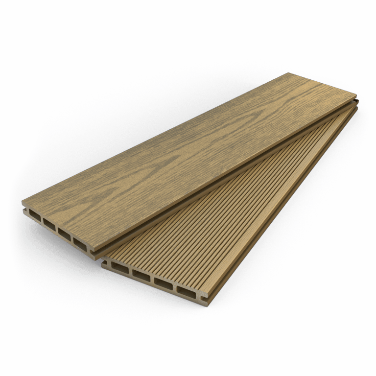 Dino decking hollow composite decking boards for Composite decking comparison