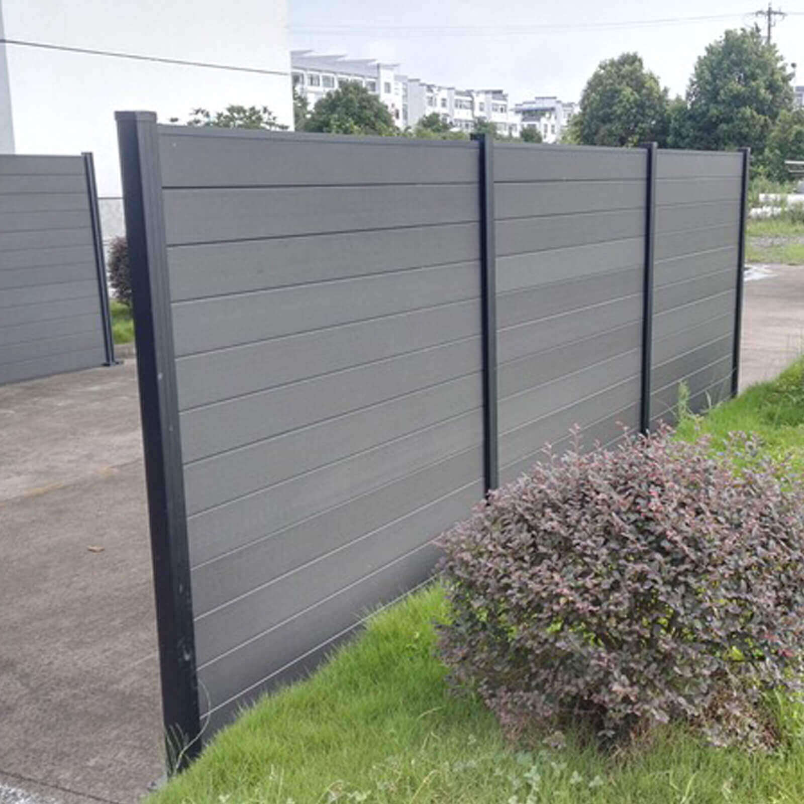 Fiberglass Fencing Products : Composite fencing slate dino decking